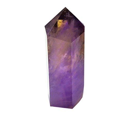 Guarigione punto le bacchette di cristallo sfaccettato prisma barre per la terapia reiki chakra meditazione deco