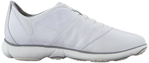 Geox U Nebula B, Low-Top Chaussures homme Blanc