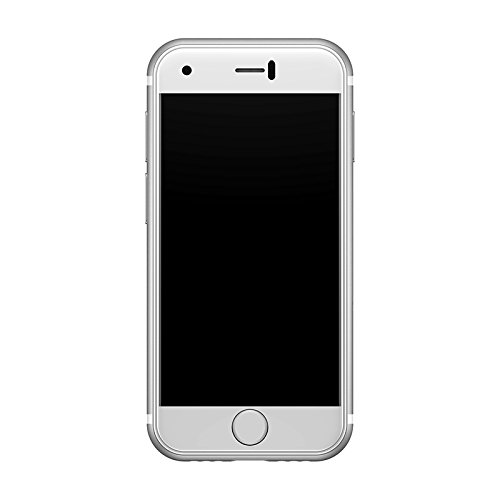 Soyes 7S Super-Mini Android Smart Handy 1GB RAM 8GB ROM 5.0 Megapixel Quad Core Dual-Sim Dual Standby Handy Telefon (Silber) Palm Handy