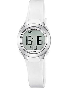 Calypso Damenarmbanduhr Quarzuhr Kunststoffuhr mit Polyurethanband Alarm-Chronograph digital alle Modelle K5677...