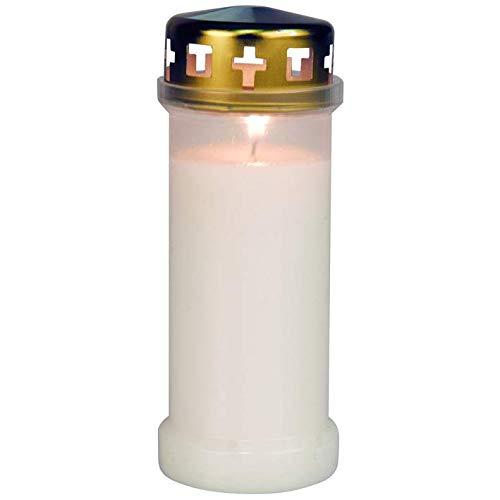 4 Altarkerzen 250 x 20 mm Leuchterkerze Elfenbein RAL Qualität Markenkerzen