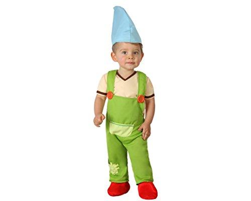 Atosa 23981 - Kobold Kostüm, Größe 12-24 Monate, grün (T-shirt Kobold-grün)