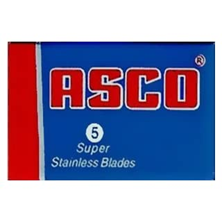 5 ASCO Super Stainless (1 pack) + 1 Free Silver Star