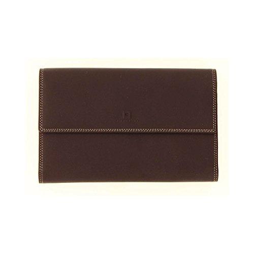 Le Tanneur - Compagnon portefeuille taille 12 cm Marron