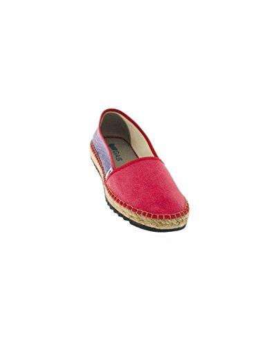 Gas Footwear , Espadrilles pour femme Rouge