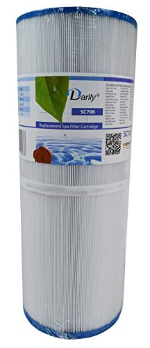 Hot Tub Filter Unicel C4950, Pleatco PRB501N, Darlly 40506, SC706 -