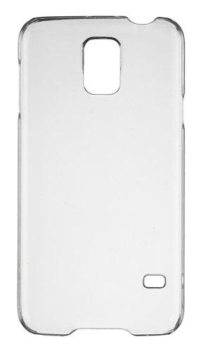 Caseit Protective Clip-On Hard Shell Hülle Case Cover Schale für Samsung Galaxy S5 - Transparent Klar