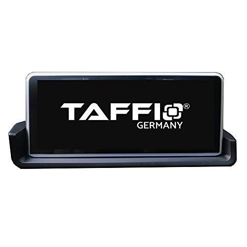 TAFFIO® Android 9.0 HD Anti Glare Touchscreen GPS Navigation SD USB Multimedia Media Player für BMW 3 E90 E91 E92 E93 ohne Original Display 8-Core Prozessor 4GB RAM + 32GB ROM* + Idrive