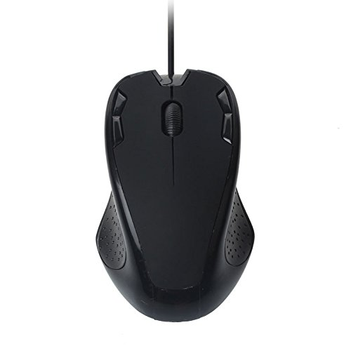 DingLong Lässige Maus, Luxus 1800 DPI USB-Kabel optische Gaming-Mäuse-Maus für PC-Laptop Orange (C) -