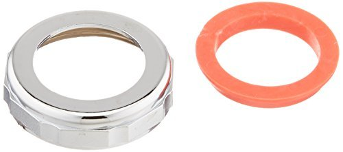 Keeney 916DK 1-1/4-Inch by 1-1/2-Inch Slip Joint Reducer Nut and Washer, Chrome by Keeney Manufacturing -