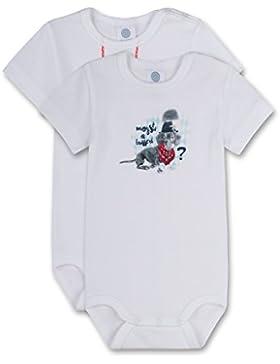 Sanetta Baby-Jungen Body, 2er Pack