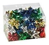 dalbags- 27Schleifen Sortiment Stern Aufkleber Geschenk Weihnachten Baumschmuck Durchmesser 30