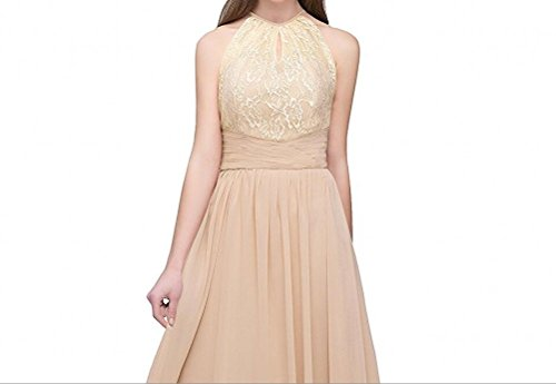 Leader of the Beauty Damen Kleid champagnerfarben