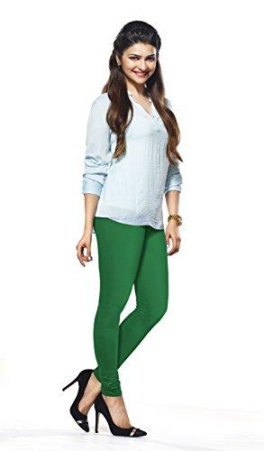 Lux Lyra Women\'s Pak Green Churidar Leggings