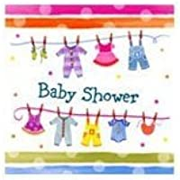 Baby Clothes Line Napkins