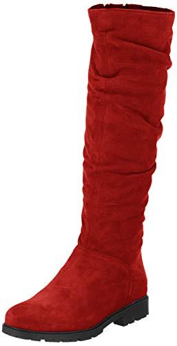 Tamaris Damen 1-1-26546-23 Hohe Stiefel, Rot (Sangria 536), 38 EU