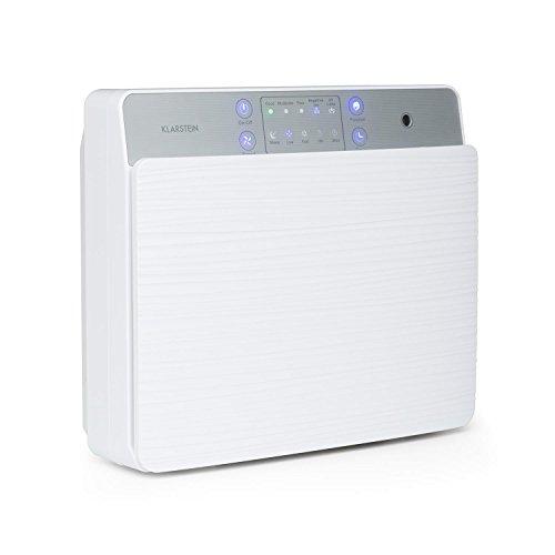 Klarstein Dalmatien Purificador de Aire - Ambientador de Aire, Ionizador, Función UV, Potente y confiable...