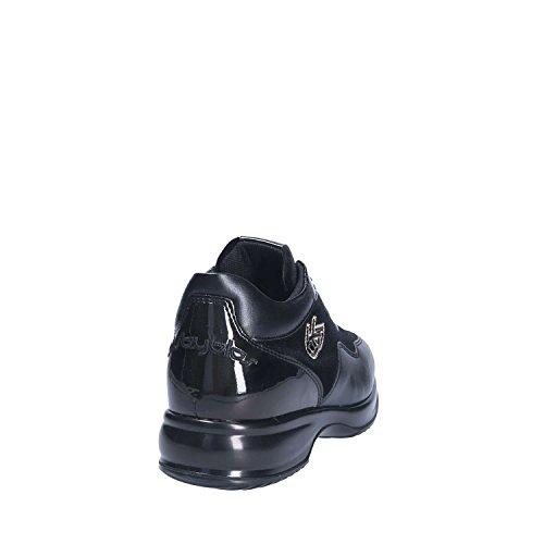 Lacets Chaussures Noir Byblos Femmes 677005 Blu wqxSv