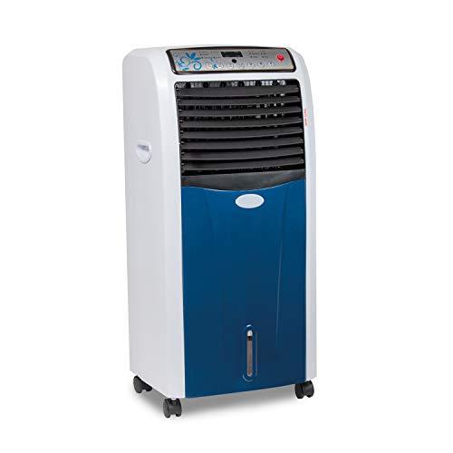 CLIMAHOGAR Climatizador frío Calor portátil Inteligente, Aire Acondicionado ionizador ecológico Inverter, Blanco/Azul, Premium