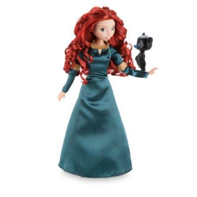 Disney Merida Kleid (Merida klassische Puppe trägt ein Satin-Kleid beendetes)