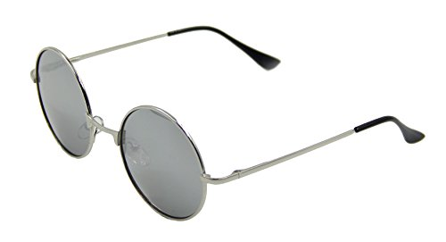 ASVP Shop® Vintage Retro Round Sunglasses Cyber Goggles Steampunk Punk Hippy