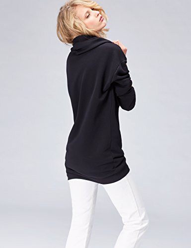 FIND Robe Sweat à Capuche Femme Noir (Black)