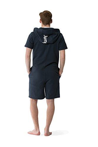 Jumpster Herren und Damen Jumpsuit Kurzer Overall Short Regular Fit Blau S - 2