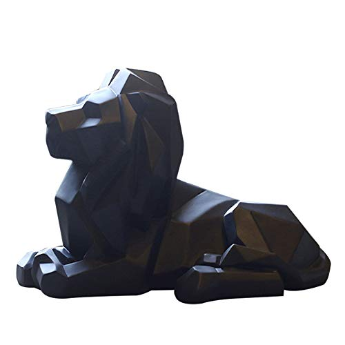 Kentop Figurine Lion décorative Sculpture ornée de résine...