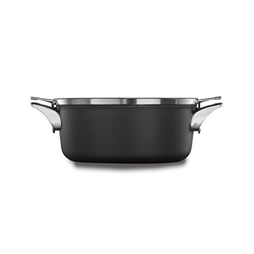 Calphalon Premier Space Saving Nonstick 5qt Dutch Oven with Cover 5 Quart Dutch Oven