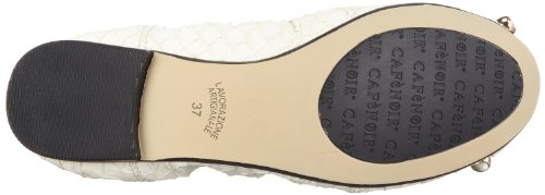 Cafènoir Da902, Ballerines femme Blanc (199 Panna 199 Panna)
