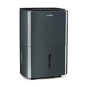 Klarstein DryFy 10 Deshumidificador de Aire – Secado de ambientes Secos, 10 L/día, Humedad programable, 240 W, 10-12 m², Silencioso, Depósito: 1,8 L, Filtro, Blanco