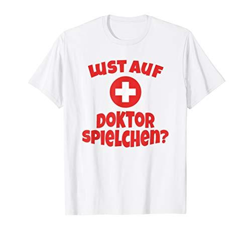 Lustiges Kostüm T-Shirt Krankenschwester Arzt Sanitäter (Sanitäter Krankenschwester Kostüm)