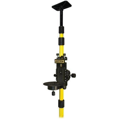 Preisvergleich Produktbild Stanley Teleskopstab mit Halterung, 2,8 m, gefedert für die sichere Montage von Lasermessinstrumenten