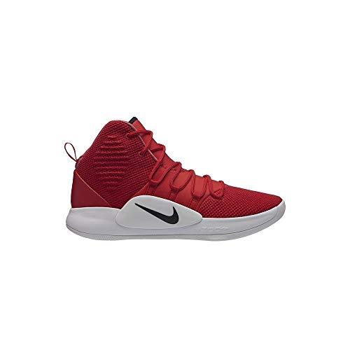 Nike Herren Hyperdunk X Tb Sneakers Mehrfarbig (University Red/Black/White 001) 42.5 EU