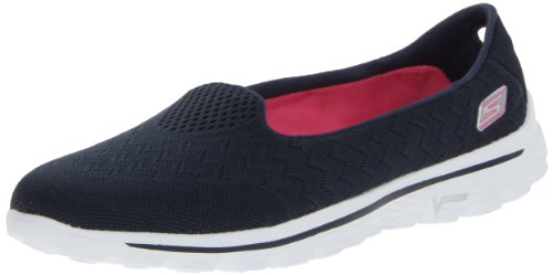 Skechers  Go Walk 2 Axis,  Sneaker donna Blu (Bleu (Nvpk))