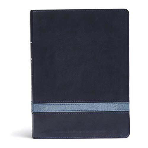 CSB Apologetics Study Bible, Navy Leathertouch Csb-box
