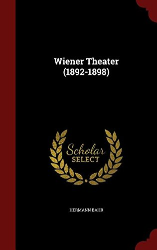 Wiener Theater (1892-1898)