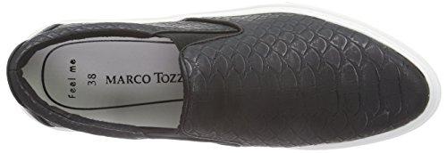 Marco Tozzi 24603, Chaussons femme Noir - Schwarz (Black Comb 098)