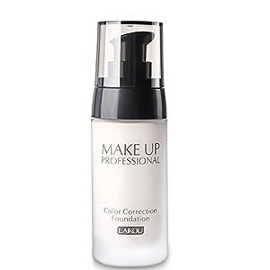 BB Cream Foundation Bare Makeup Concealer Light/Medium Skintones para la crema hidratante facial Cover Up Skin Flaw Isolation Dust UV(1#)