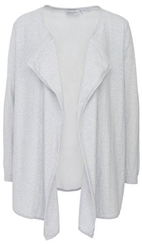 Delicatelove Damen Open Cardigan Silk Faded, Größe L