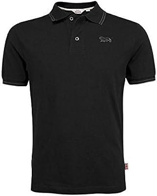 Lonsdale Polo Joel Men Slim Fit Polo-Black