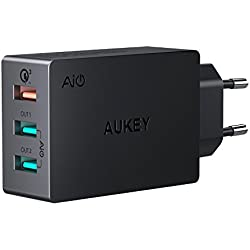 Cargador Aukey Quick Charge 3.0 43,5W