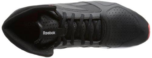 Reebok FITNISFLARE MID, Chaussures de running entrainement femme Noir - Schwarz (SYN/BLACK/SMOKY GREY/WHITE/GERANIUM)