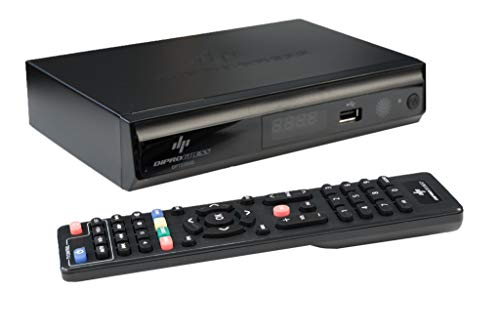 DiProgress DPT220HD Decoder Digitale Terrestre DVB-T2 Doppio Tuner, Nero