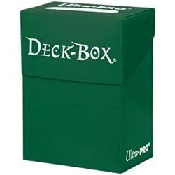 Ultra Pro Deck Box verde oscuro 80 cartas