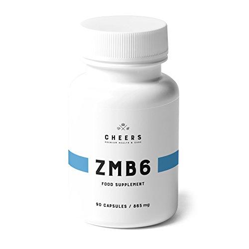 Magnesium Ergänzungsmittel - ZMB6 -Hoch AbsorbierbaresMagnesium CitratmitZink& Vitamin B6- Schlafe Wie EinBaby & Erhalte Linderung Von Krämpfen- 90 VeganeKapseln(320 mg)