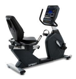 Spirit Fitness Studio-Recumbent-Bike CR-900 LED