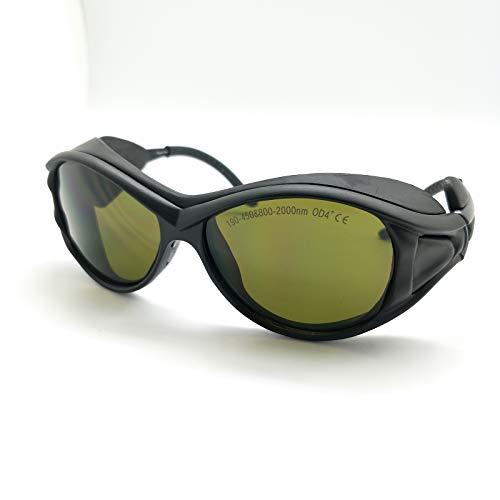 OD4+ 190-450nm & 800-2000Nm Laser Schutzbrille Gläser CE eaglepair EP-5-2 -