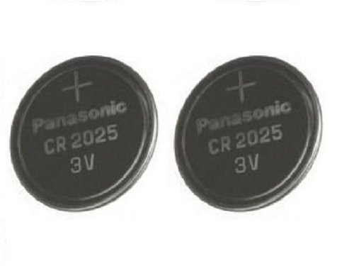 Panasonic Batterien CR2025 3 V 2 Stück Lithium Knopfzellen Multi-Purpose New Cr2025 3v Batterie