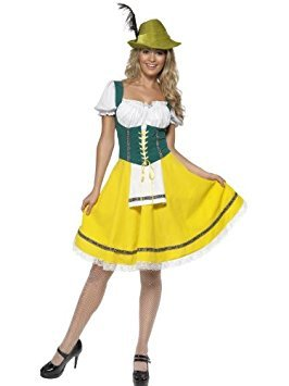 Around The World femelle Fancy Dress Déguisement Costume Oktoberfest UK 8-10